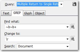 Multiple Return to Single Return