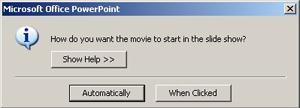 Start a movie