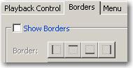 Skin borders deselected