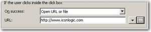 Web Address in Captivate Click Box URL