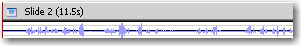 Waveform on the Timeline