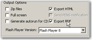 Export PDF Option