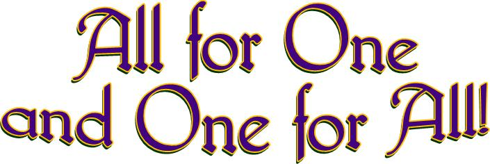 all for one logo