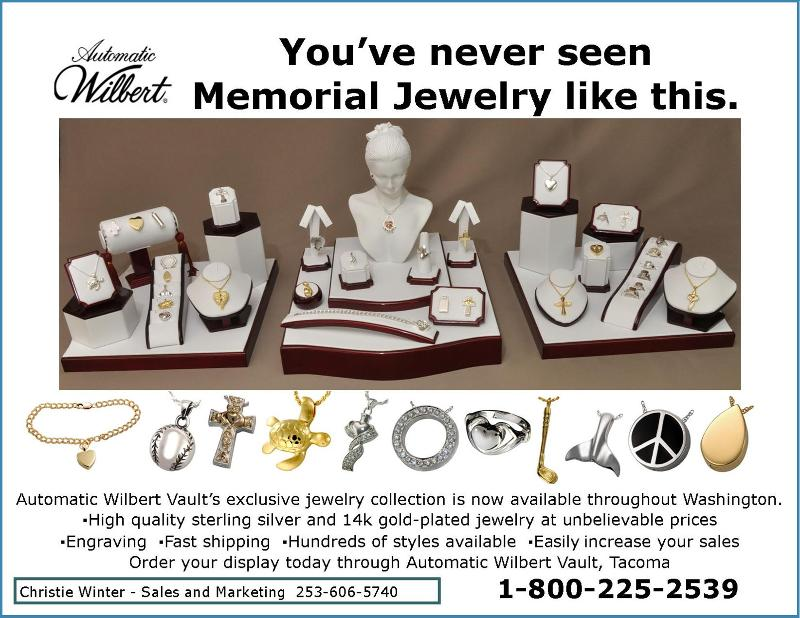 Wilbert Jewelry 1/2 page
