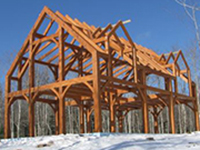 KVCC timber frame program