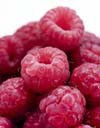 Raspberries are the key ingrediant in this month's recipe
