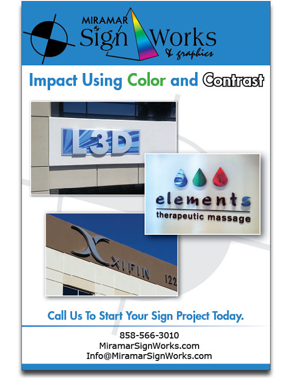 Impact Sign Color