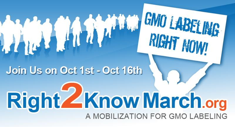 Right2Know March - You have the Right 2 Know!