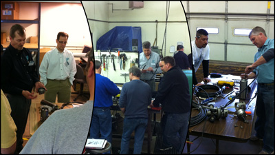 2012 Service School Hands-On