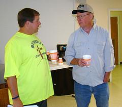 Larry Murphy and Randy Tucker
