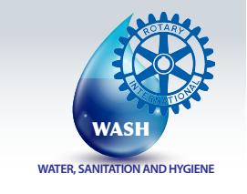 Rotary WASH Logo