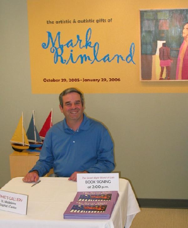 Mark booksigning