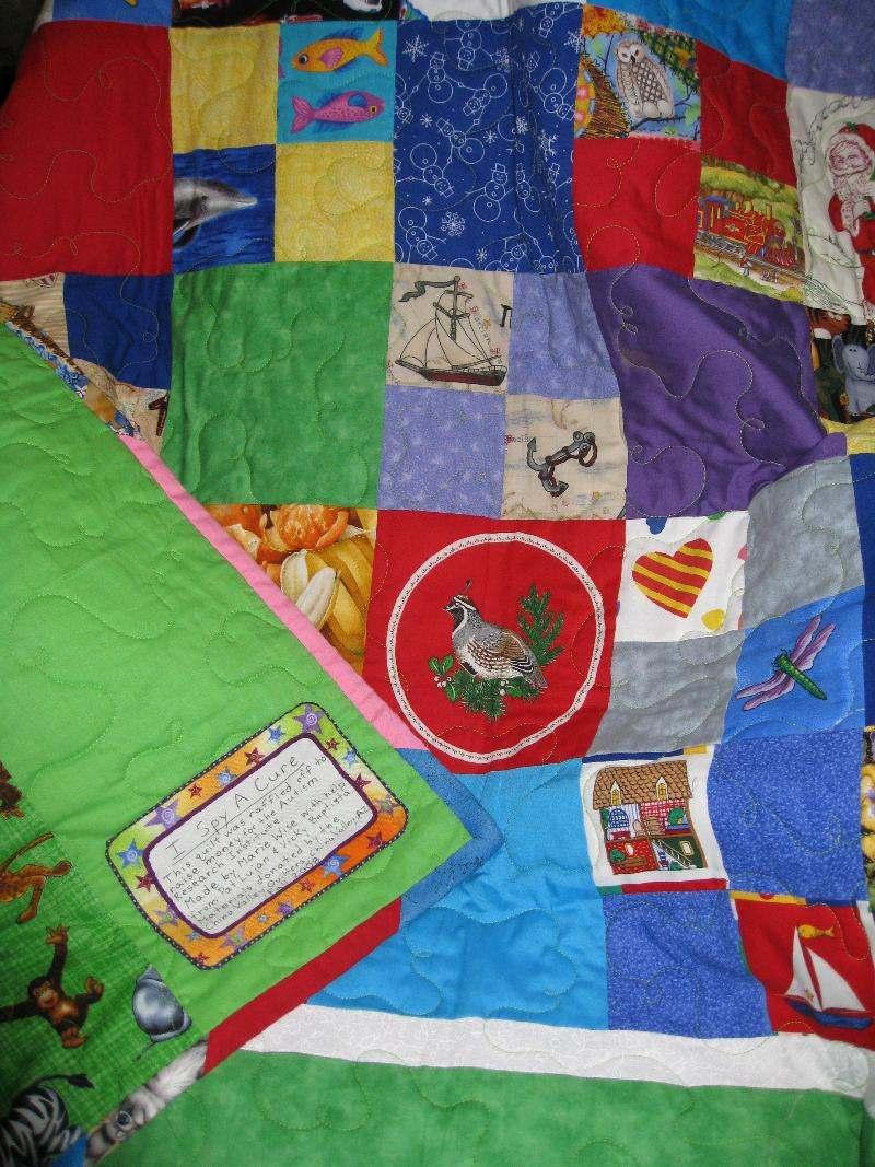 zoo quilt