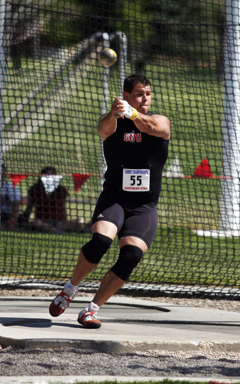 Carlos Valle, Summit League Male Field Athlete of the Year