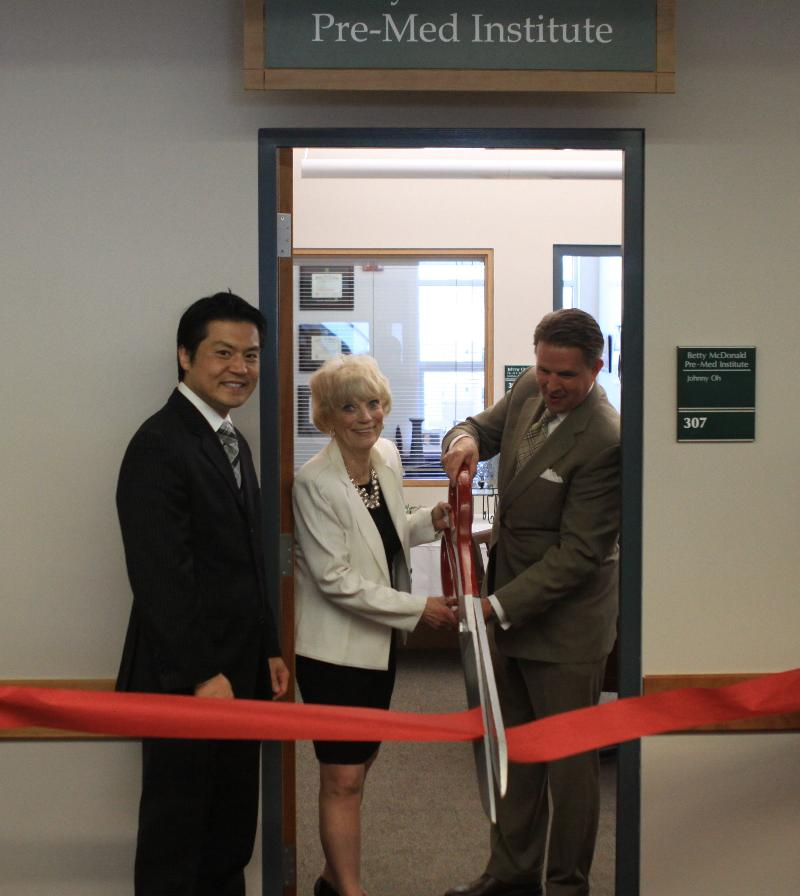 Betty McDonald Pre-Med Institute Ribbon Cutting