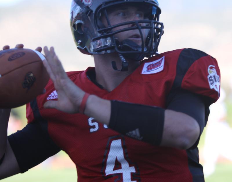 SUU Quarterback Brad Sorensen
