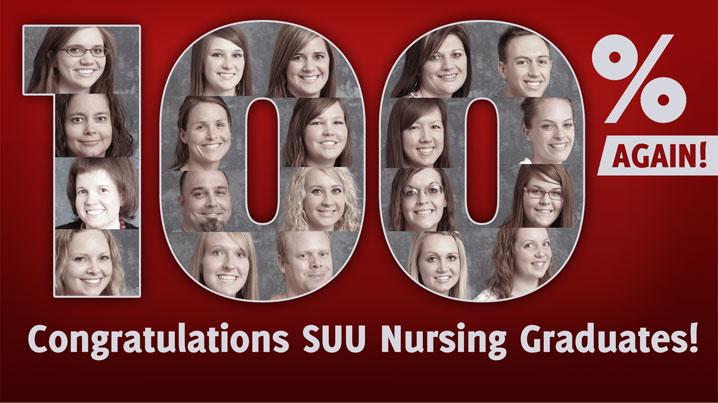 SUU Nursing - 100% Pass Rate