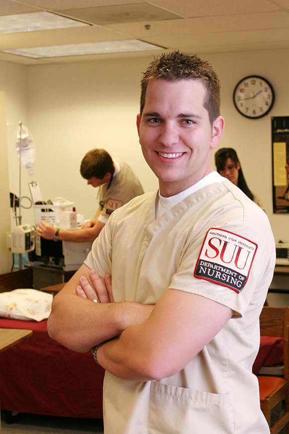 SUU Nursing, 98% pass rate on the 2010 NCLEX licensure exam.