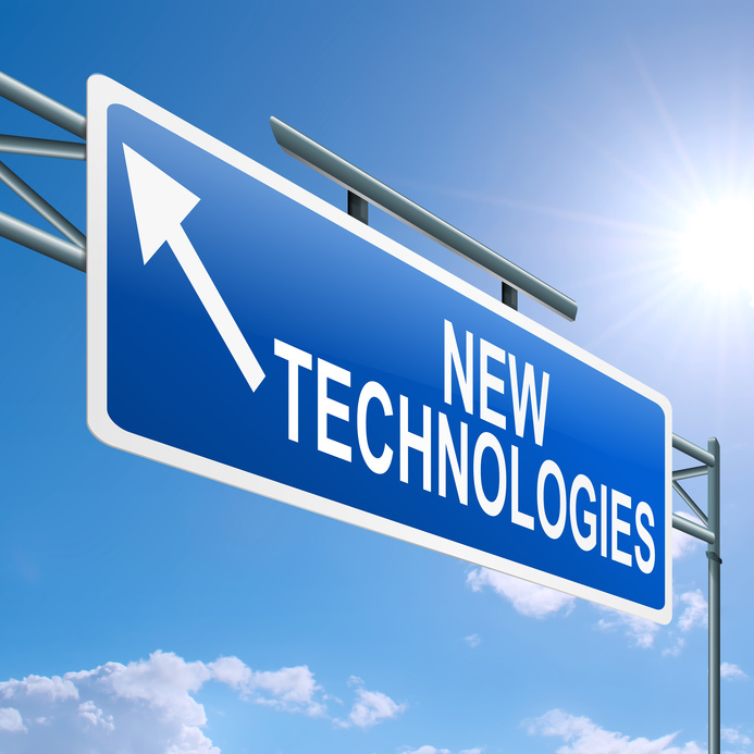 New Technologies sign