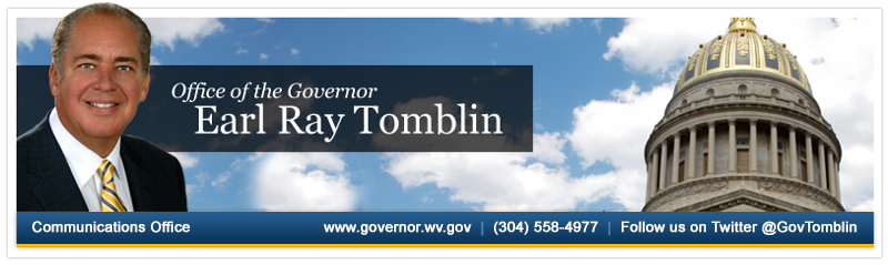 Governor Tomblin encourages residents to enjoy wild, wonderful West Virginia