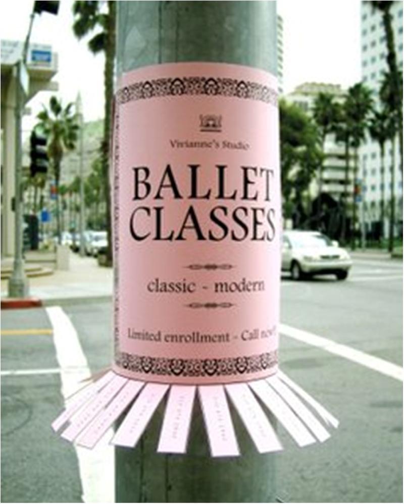 Guerrilla Marketing Ballet