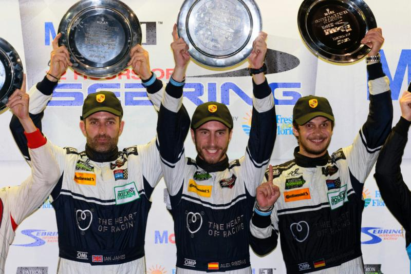 Team Seattle-The Heart of Racing Wins GTD at Sebring 12