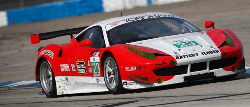 Ferrari Sebring test