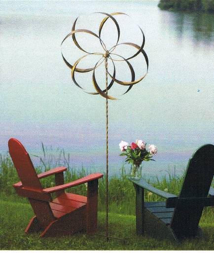 Wind Spinners at Stone Garden