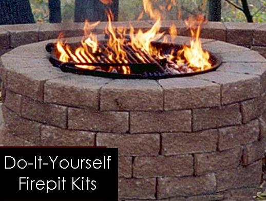 Do-It-Yourself firepit at Stone Garden