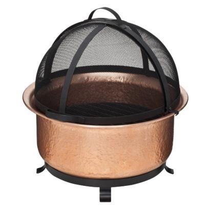 Copper Firebowl
