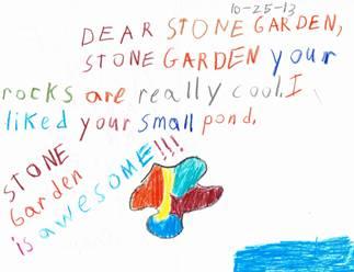 Field Trip to Stone Garden