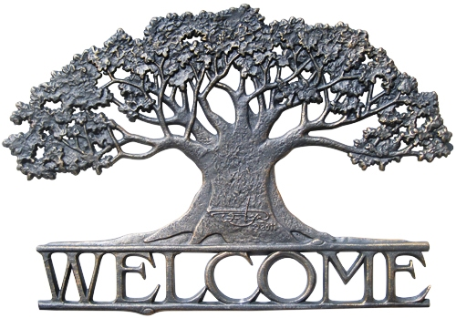 Tree Welcome at stonegarden