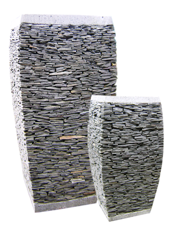 Stacked slate at stonegarden-nc.com