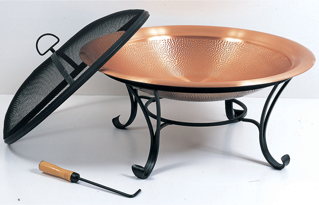Copper firepit at stonegarden-nc.com