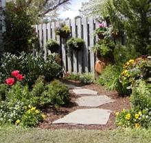 Flagstone path by Stone Garden