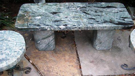 Jade bench at stonegarden-nc.com