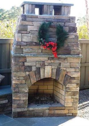 Hartsell fireplace