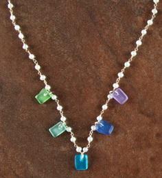 Seaglass Necklace at Stone Garden