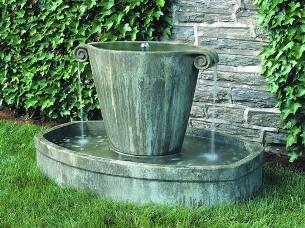 Anfora fountain at stonegarden-nc.com
