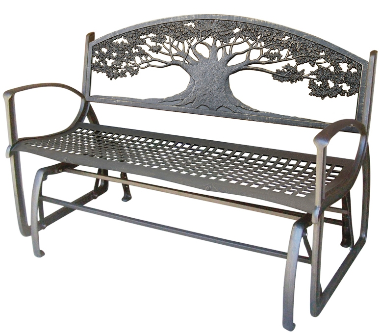 Tree of life bench
