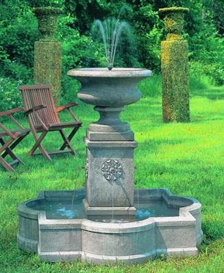 Palazzo Urn Fountain at stonegarden-nc.com