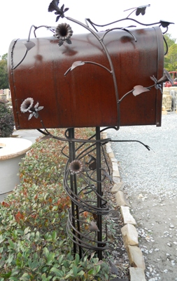 Mailbox by Steve Sherman at Stone Garden