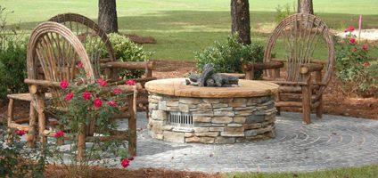 Stone Garden Sandstone Firepit