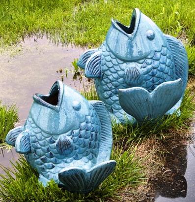 Glazed Fish at Stone Garden