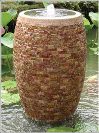 Rose Marble Fountain