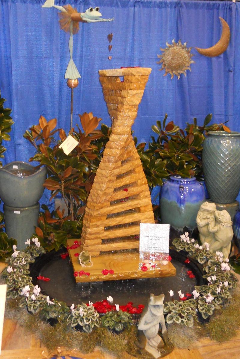 Stone Garden Booth at Garden Show 2010
