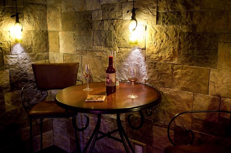 Wine Bar by Herrington Classic Homes and Stone Garden