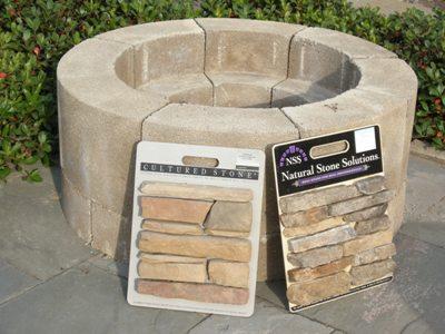 Firepit Kit at Stone Garden