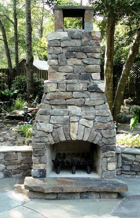 Brandon DIY fireplace