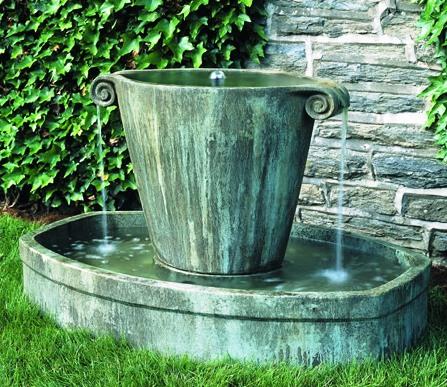 Anfora Fountain at Stone Garden